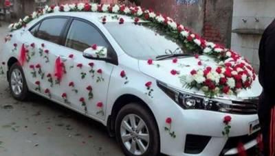 کراچی میں دولہے کی گاڑی پر فائرنگ، گود میں بیٹھا بچہ جاں بحق