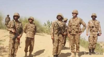 کراچی کو رکی مشقیں ''جدارالحدید'' صحرائے تھرمیں جاری، 28 فروری کو ختم ہونگی