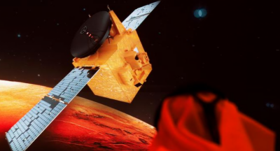 اماراتی مشن 'ہوپ' کی مریخ سے لی گئی تصویر کے مناظر