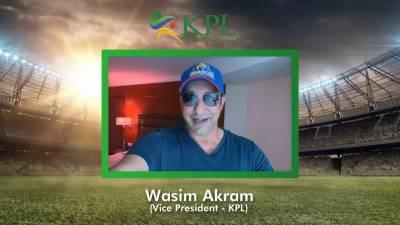 وسیم اکرم نے کشمیرپریمیئر لیگ میں نائب صدر کی حیثیت سے شمولیت اختیار کر لی