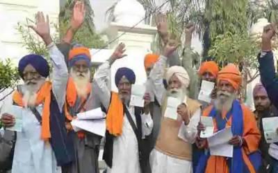 مودی حکومت نے ویزہ کے باوجود سکھ یاتریوں کو پاکستان آنے سے روک دیا۔