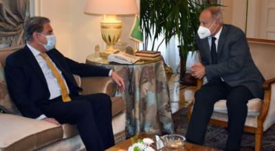 پاکستان کے عرب لیگ کے رکن ملکوں کے ساتھ مضبوط سیاسی اور تجارتی روابط قائم ہیں: وزیر خارجہ شاہ محمود قریشی