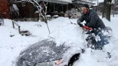 امریکا: برفانی طوفان سے نظام زندگی درہم برہم، ہلاکتوں کی تعداد 36 ہوگئی