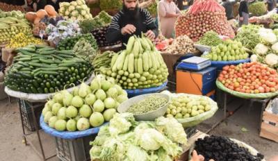 ملک میں مہنگائی کی مجموعی شرح میں نو اعشاریہ نو دو فیصد اضافہ