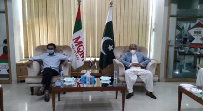 پی ٹی آئی کے وفد کی ایم کیو ایم رہنماؤں سے ملاقات, ہ کراچی کی تمام محرومیاں دور کی جائینگی