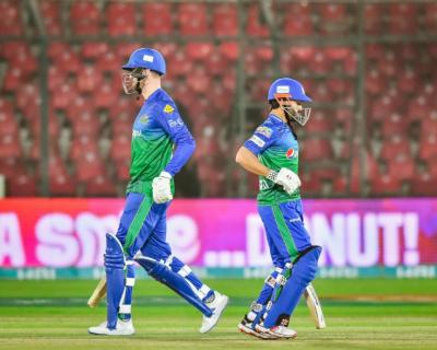 پی ایس ایل6: ملتان سلطانز کا اسلام آباد یونائیٹڈ کو جیت کے لیے151 کا ہدف