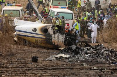 فوجی طیارہ گر کر تباہ، 7 افراد ہلاک