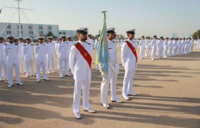 پاکستان میرین اکیڈمی کے 57 ویں بیج کی پاسنگ آئوٹ پریڈ
