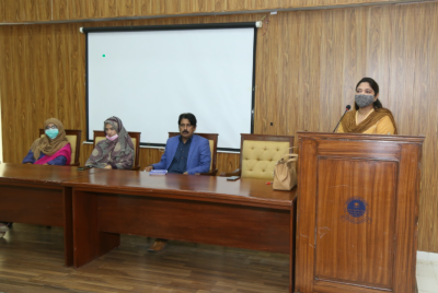 اوکاڑہ یونیورسٹی میں ماں بولی کے عالمی دن کے حوالے سے سیمینار کا انعقاد سیمینار شعبہ اردو کی جانب سے منعقد کیا گیا
