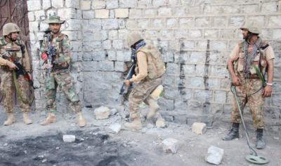 شمالی وزیرستان:سیکیورٹی فورسز نے دہشتگرد حسن سجناں کو ہلاک کردیا، آئی ایس پی آر