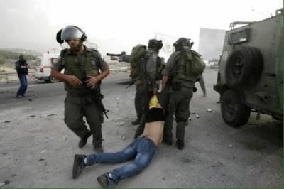 مقبوضہ بیت المقدس: قابض اسرائیلی فوج اور فلسطینیوں میں جھڑپیں