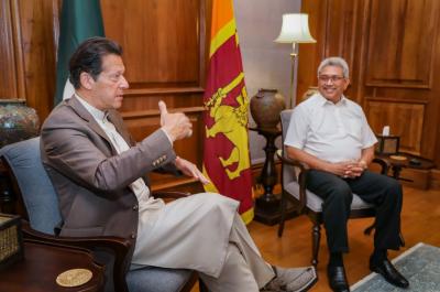 وزیراعظم عمران خان سے ملاقات میں دو طرفہ امور پر تبادلہ خیال کیا: سری لنکن صدر