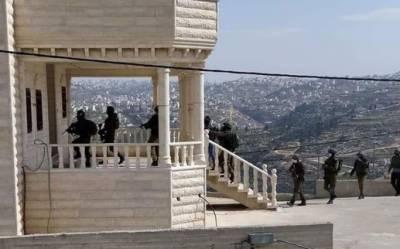 اسرائیلی فوج کی کارروائی ،بچے سمیت 3فلسطینی گرفتار