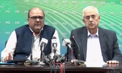 وفاقی وزرا کی جج کے خلاف پریس کانفرنس،شہزاد اکبر اور انور منصور کو بھی اپنا بیان حلفی جمع کر انے کا حکم