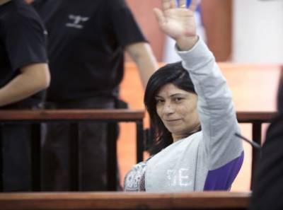 فلسطینی خاتون رہنما کو قید و جرمانے کی سزا
