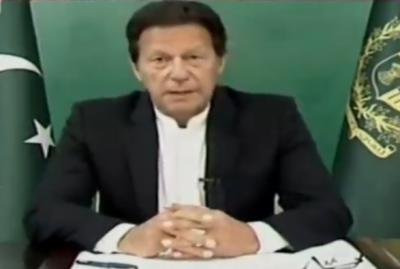 وزیراعظم عمران خان کا ایوان سے اعتماد کا ووٹ لینے کا اعلان