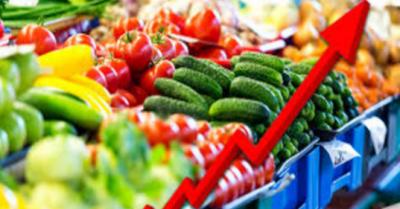 اشیائے خوردونوش کی قیمتوں میں اضافہ , ملک میں مہنگائی کی شرح 14.95 فیصد پر پہنچ گئی