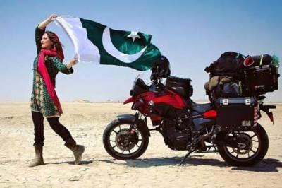 کینیڈین خاتون بائیکر روزی گیبریل نے پاکستانی بائیکر سے شادی کر لی