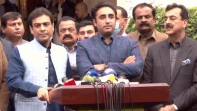 پنجاب میں عدم اعتماد سے متعلق پی ڈی ایم کا فیصلہ قبول کریں گے: حمزہ شہباز
