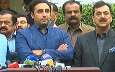 عمران خان نے پاکستان کے عوام کے ساتھ مذاق کیا، عمران خان نے اندر کے خوف سے اعتماد کا ووٹ حاصل کیا: بلاول بھٹو زرداری