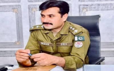 ایس ایچ او عمران عباس کے قتل کا مقدمہ درج