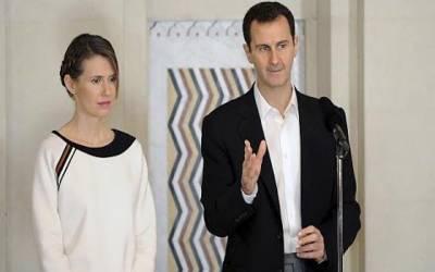 شامی صدر اور ان کی اہلیہ دونوں کرونا وائرس کا شکار