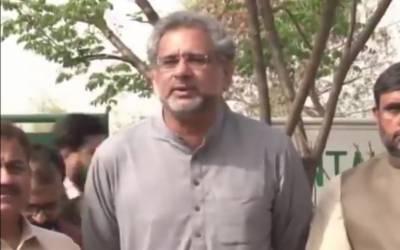 حکومت کامیاب نہ ہوئی تو الیکشن کمیشن پر چڑھ دوڑی۔شاہد خاقان عباسی