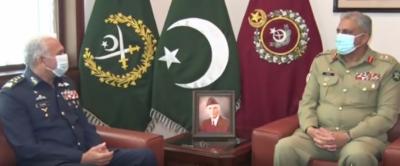 ایئر چیف کی بہترین کوششوں اور شاندار قیادت کے باعث پاکستان ایئر فورس کا آج دنیا بھر میں کوئی ثانی نہیں : آرمی چیف