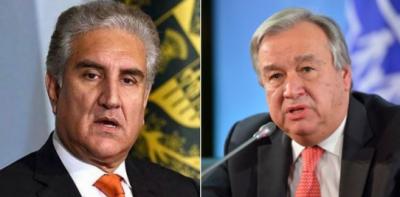پاکستان ،اقوام متحدہ کے امن مشنز میں سب سے بڑا معاون رہا ہے: وزیر خارجہ شاہ محمود قریشی