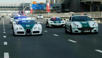 دبئی پولیس کو نئی گاڑیاں فراہم کردی گئیں