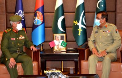 کمانڈر بحرینی نیشنل گارڈز کی چیئرمین جوائنٹ چیفس آف اسٹاف کمیٹی جنرل ندیم رضا سے ملاقات