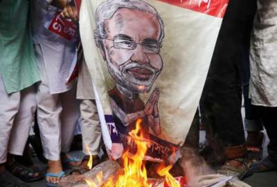مودی کی بنگلہ دیش آمد پر سخت احتجاج، 4 مظاہرین جاں بحق درجنوں زخمی