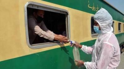 کورونا: ٹرینوں کے شیڈول میں کوئی تبدیلی نہیں کی گئی، ترجمان ریلوے