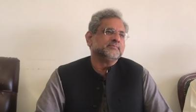 اپوزیشن کے پاس 57 ارکان ہیں تو پہلی فرصت میں چیئرمین سینیٹ کے خلاف تحریک عدم اعتماد لائے: شاہد خاقان عباسی