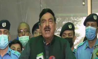 اسلام آباد پولیس کو مثالی پولیس بنائیں گے : شیخ رشید احمد