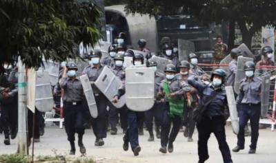میانمار میں فوجی بغاوت کے خلاف جاری احتجاج کے دوران مظاہرین پر سیکیورٹی فورسز کی فائرنگ کے نتیجے میں ہلاکتیں 500سے تجاوز