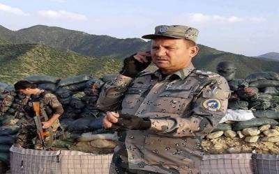 طالبان کاحملہ: کمانڈر کرنل فریدون فیاض اپنے دو محافظ سمیت ہلاک