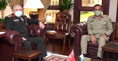 چیئرمین جوائنٹ چیفس آف اسٹاف کمیٹی کی ترک وزیر دفاع سے ملاقات, باہمی دلچسپی کے امور پر تبادلہ خیال