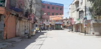 کورونا کی تیسری لہر: کراچی کے مختلف علاقوں میں مارکیٹیں اور تجارتی مراکزبند کرادیے گئے
