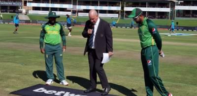 دوسرا ون ڈے: پاکستان کا ٹاس جیت کر فیلڈنگ کا فیصلہ