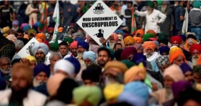 بھارتی کسانوں کا احتجاج ، سابق آفیسر نے پنجاب کے کسانوں کو مفت زمین دیدی