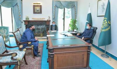 وزیر اعظم عمران خان سےوزیرداخلہ شیخ رشیداحمدکی ملاقات،ملک کی مجموعی صورتحال پرتبادلہ خیال