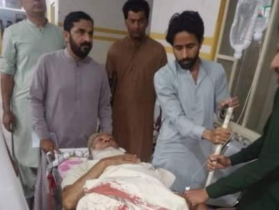 لاڑکانہ:کار پر فائرنگ، جے یو آئی رہنما بیٹے سمیت زخمی