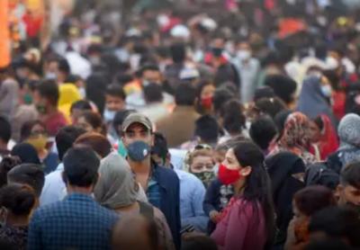 بھارت میں کورونا بے قابو، ایک دن میں ایک لاکھ سے زائد کیسز , چارسو اٹھہتر اموات