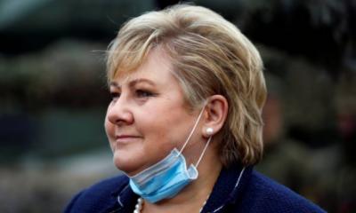 ناروے: ایس او پیز کی خلاف ورزی پر وزیراعظم کو ساڑھے 3 لاکھ جرمانہ