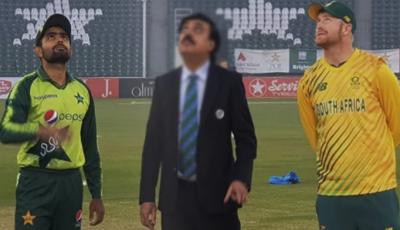 پہلا ٹی ٹوئنٹی: جنوبی افریقا کا پاکستان کیخلاف ٹاس جیت کربیٹنگ کا فیصلہ