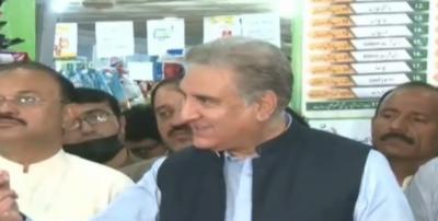 17 شوگر ملوں کو نوٹسز بھیجے گئے ہیں، صرف جہانگیر ترین صاحب کو نوٹس نہیں ِبھیجا گیا، جہانگیر ترین وزیراعظم سے ملاقات کریں: وزیر خارجہ شاہ محمود قریشی