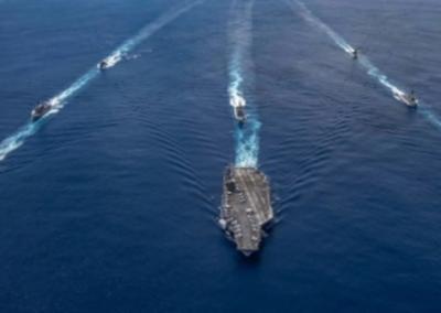 امریکی بحری جہاز اہم بھارتی فوجی راز اور معلومات لے کر واپس, مودی حکومت بے بس