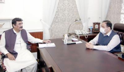 وزیراعلیٰ عثمان بزدار سے رکن قومی اسمبلی ملک احمدحسین ڈہیڑکی ملاقات, باہمی دلچسپی کے اموراورسیاسی صورتحال پر تبادلہ خیال