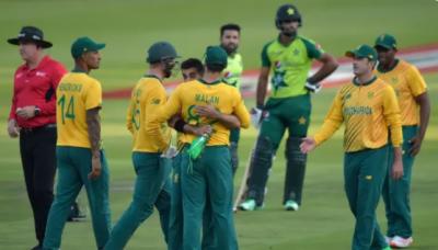 پاکستان اور جنوبی افریقہ کے درمیان دوسرا ٹی ٹوئنٹی کل کھیلا جائے گا